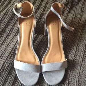 Brand new light blue heels